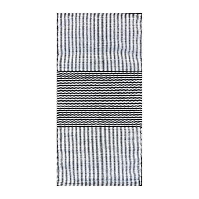 Teppich Aava hellbeige-schwarz, Anna Saarinen
