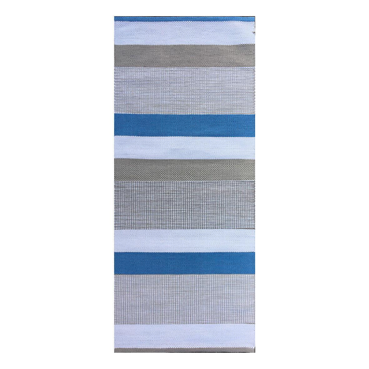 Teppich Laaka blau-beige-hellbeige, Anna Saarinen