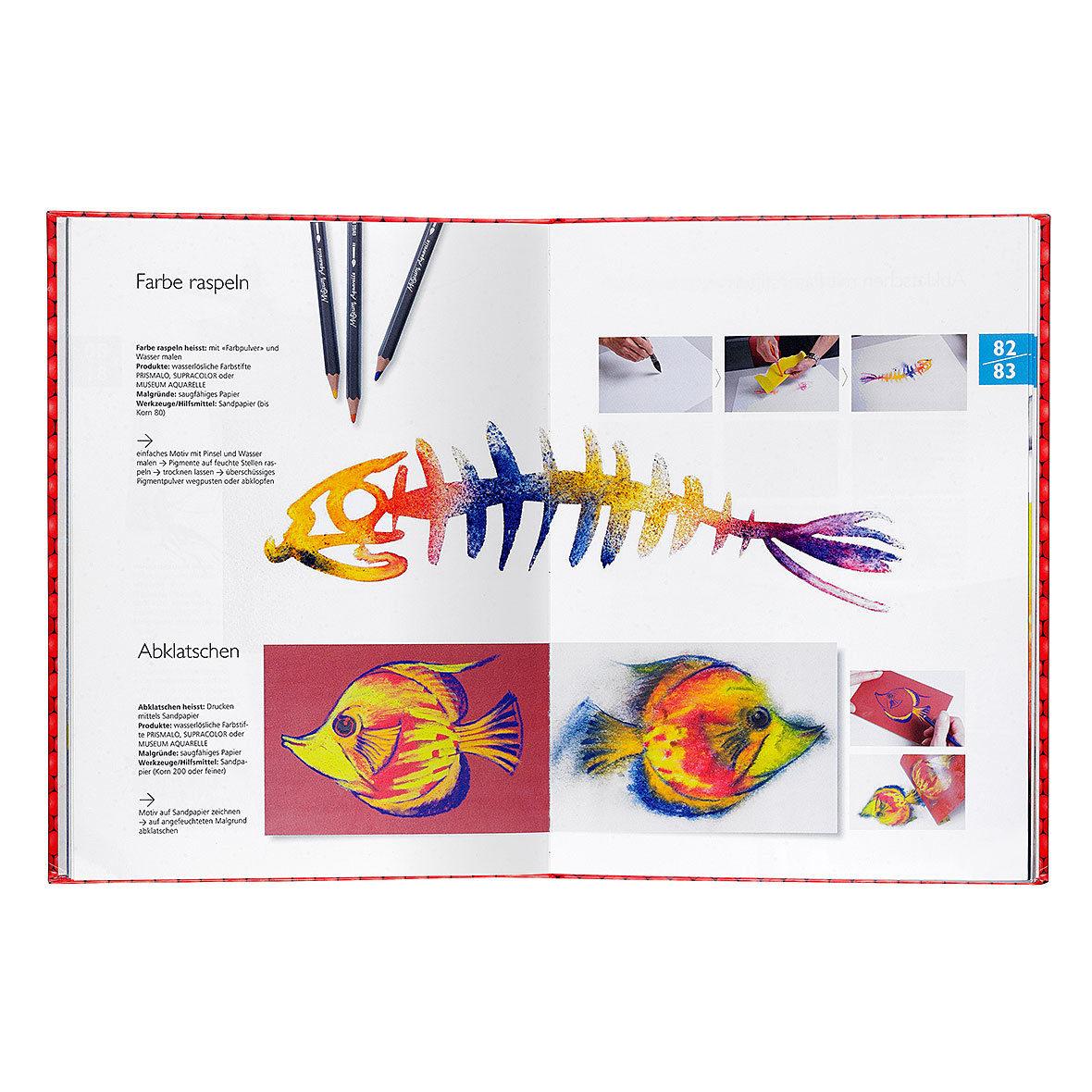 Atelier-Buch Deutsch von Caran d\'Ache | Bestswiss.ch