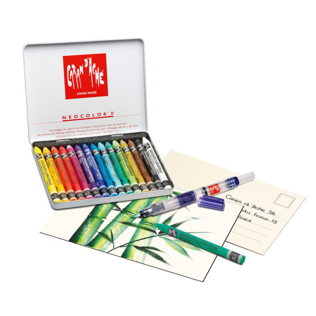 Neocolor II Creative Box, Caran d'Ache