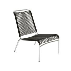 Altorfer Lounge Stuhl 1139 graphitschwarz von Embru