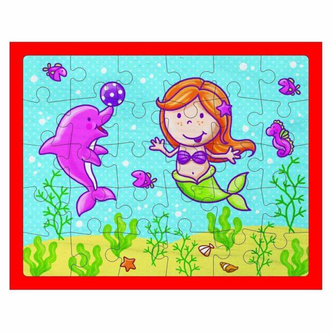 Puzzle Meerjungfrau von Weizenkorn