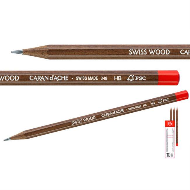 Bleistift Swiss Wood, Caran d'Ache