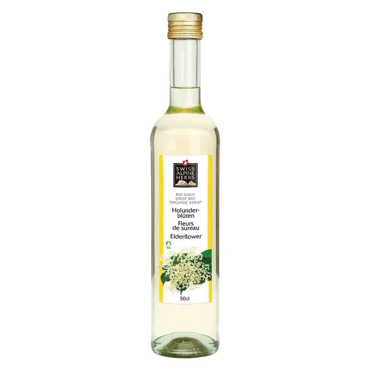 Bio-Sirup Holunderblüten, Swiss Alpine Herbs