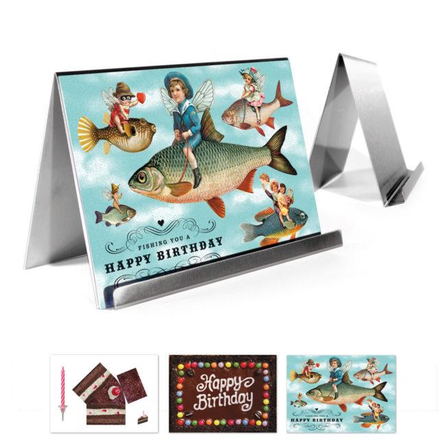Freshfish Kartenhalter