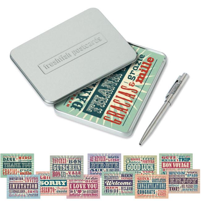 Freshfish Postcard-Box Danke & Co