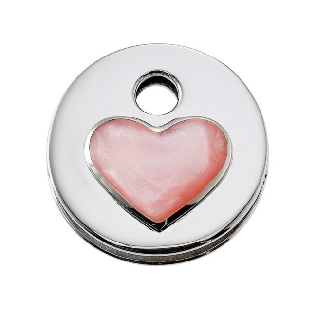 Schlüsselkappe Glamour Heart von Keeeart