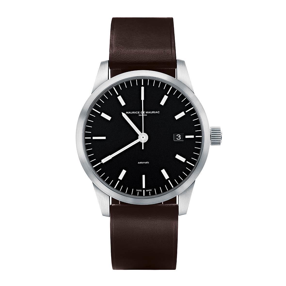 L1 Watch Stahl by Maurice de Mauriac