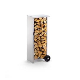 Holzstapler mobil von Siwa, Edelstahl