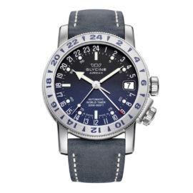 Uhr Airman 17 von Glycine, blau