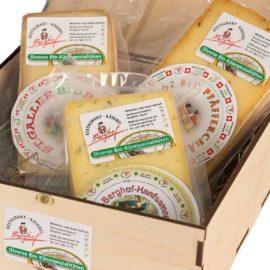 berghof käse geschenkkiste klein
