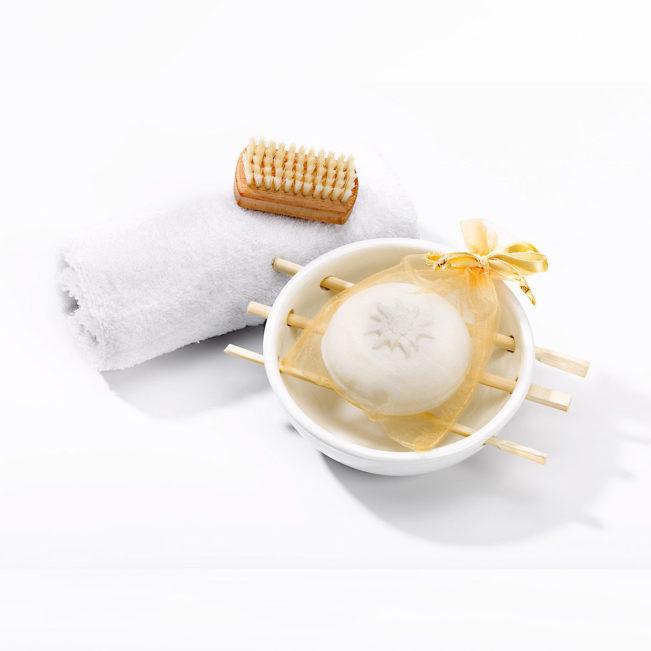 Geschenkset Edelweiss von Seifenmanufaktur Bblubb
