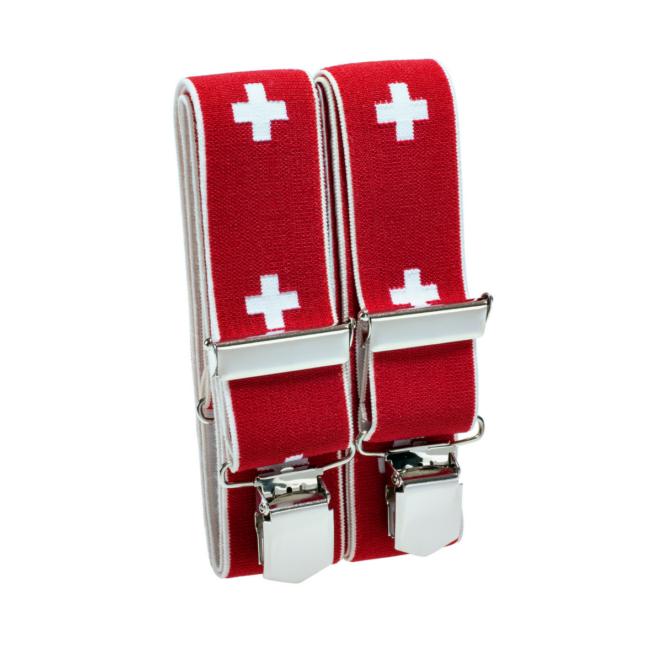 Hosenträger Schweizer Kreuz