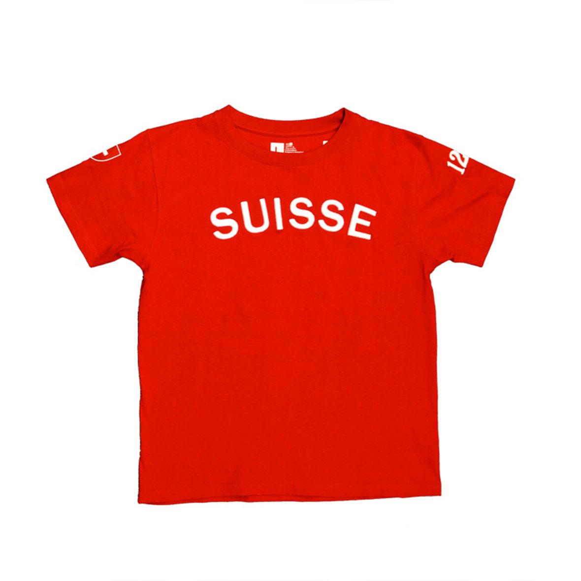 T-Shirt Suisse Unisex