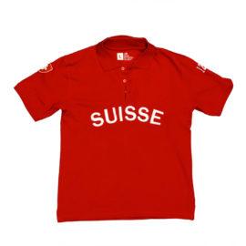 Poloshirt Suisse Unisex