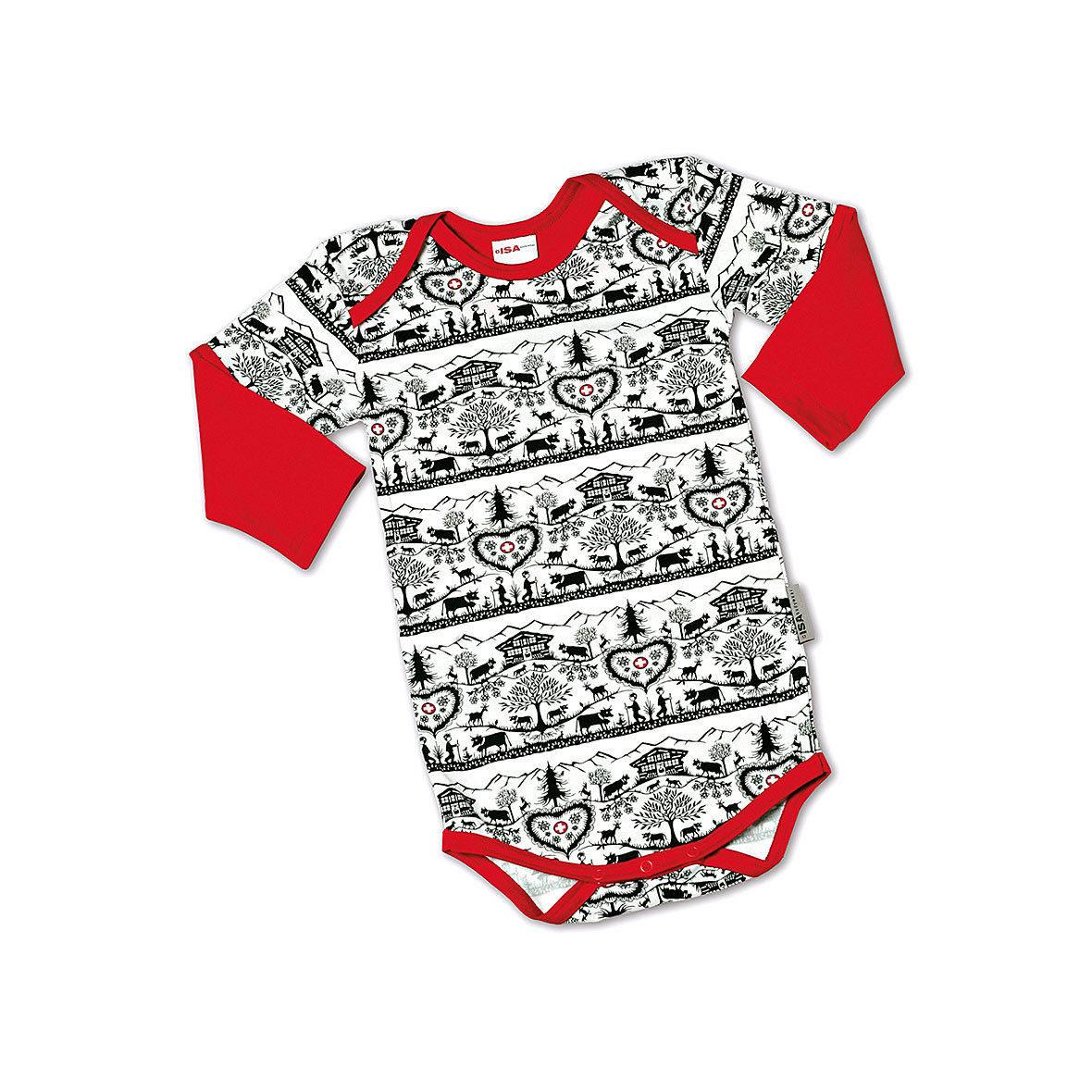 Baby-Body Alpenschick, Scherenschnitt