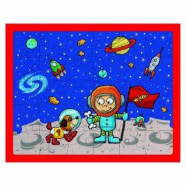 Puzzle Astronaut für Kinder von Weizenkorn