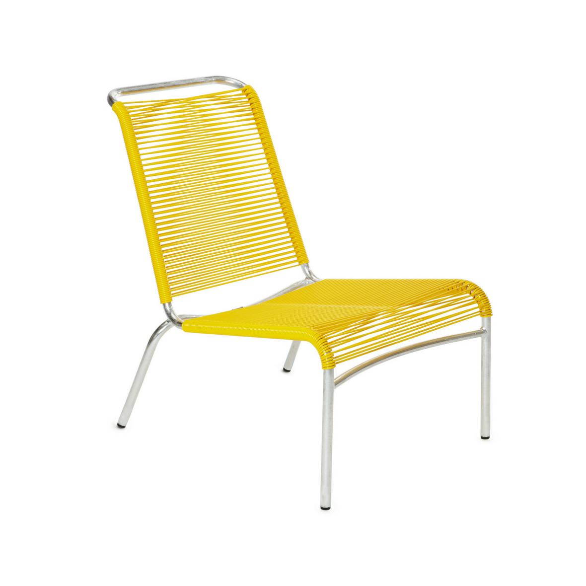 Altorfer Lounge Stuhl 1139 Verkehrsgelb von Embru