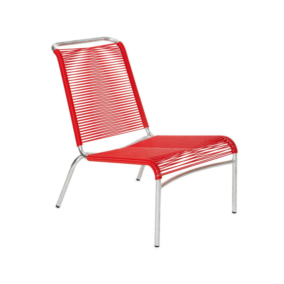 Altorfer Lounge Stuhl 1139 Verkehrsrot von Embru