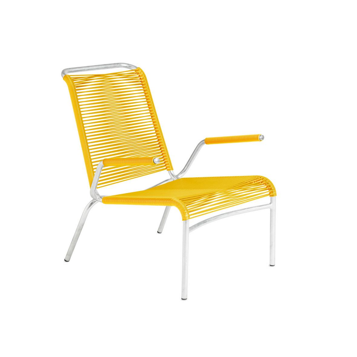 Altorfer Lounge Sessel 1142 mit Armlehne Verkehrsgelb von Embru