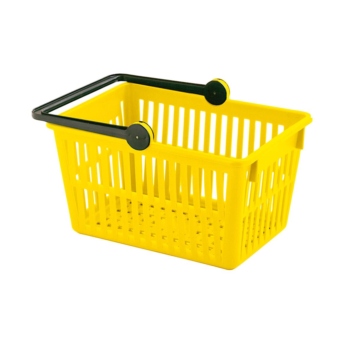 Einkaufskorb Farbe gelb von Stöckli