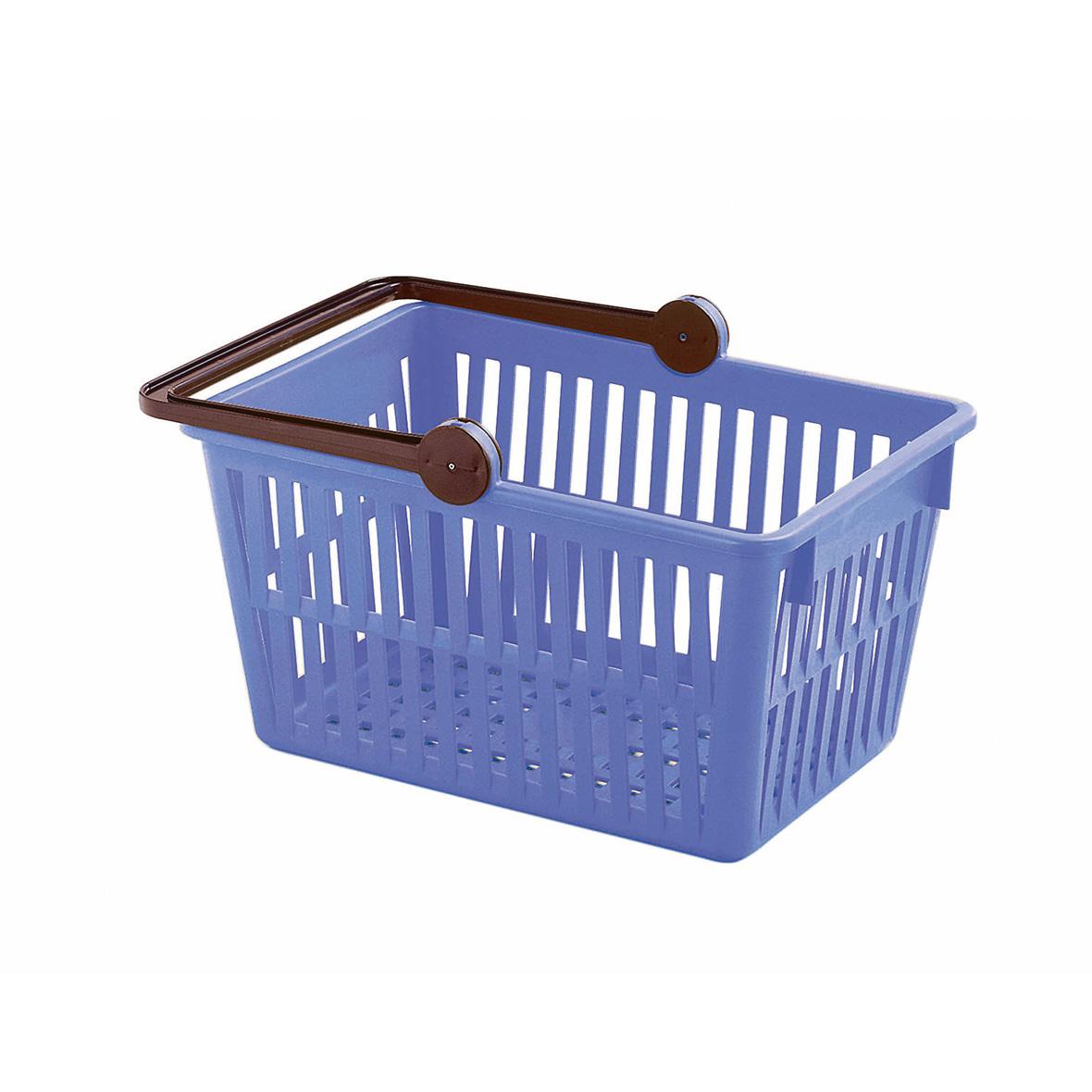 Einkaufskorb Farbe blau von Stöckli
