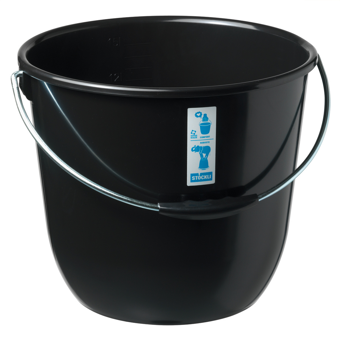 eimer recycling 15 liter bestswiss. Black Bedroom Furniture Sets. Home Design Ideas