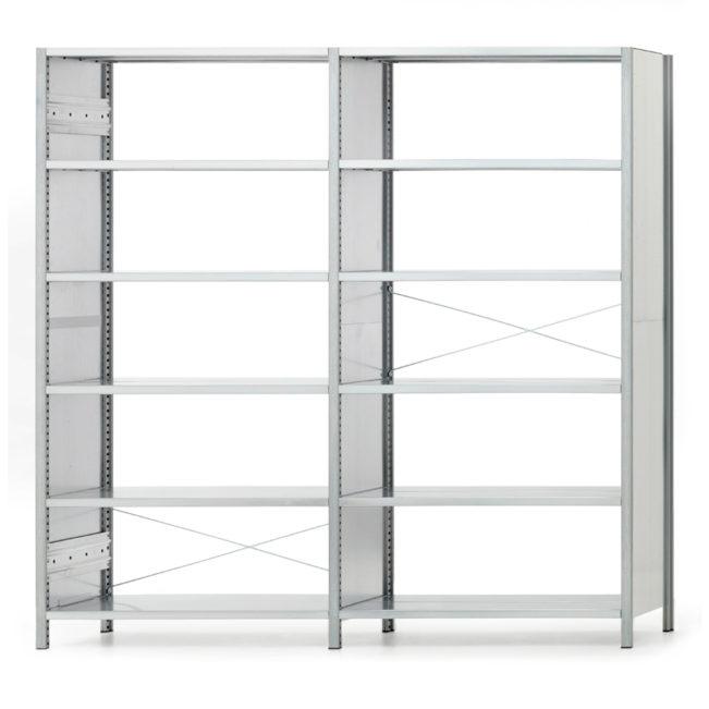 Doppelregal offen von MF-System