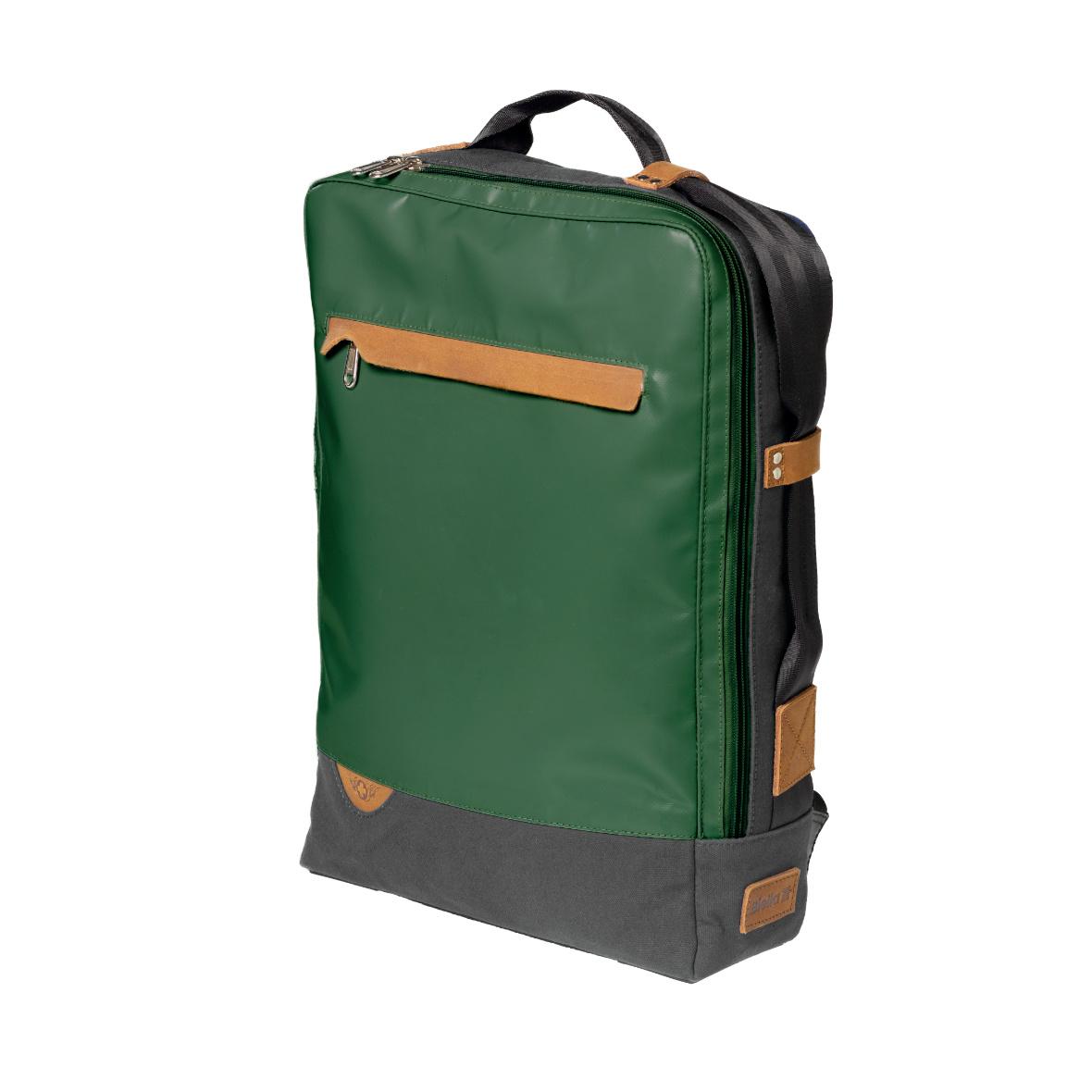 Rucksack der Collection Bundesordner von Biella, grün