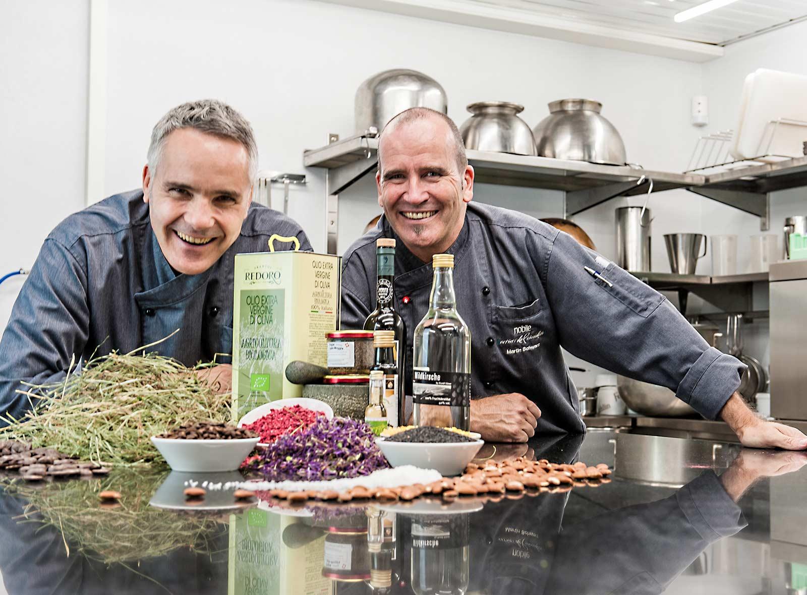 Nobile Willi Schmutz und Martin Schwarz Casa Nobile