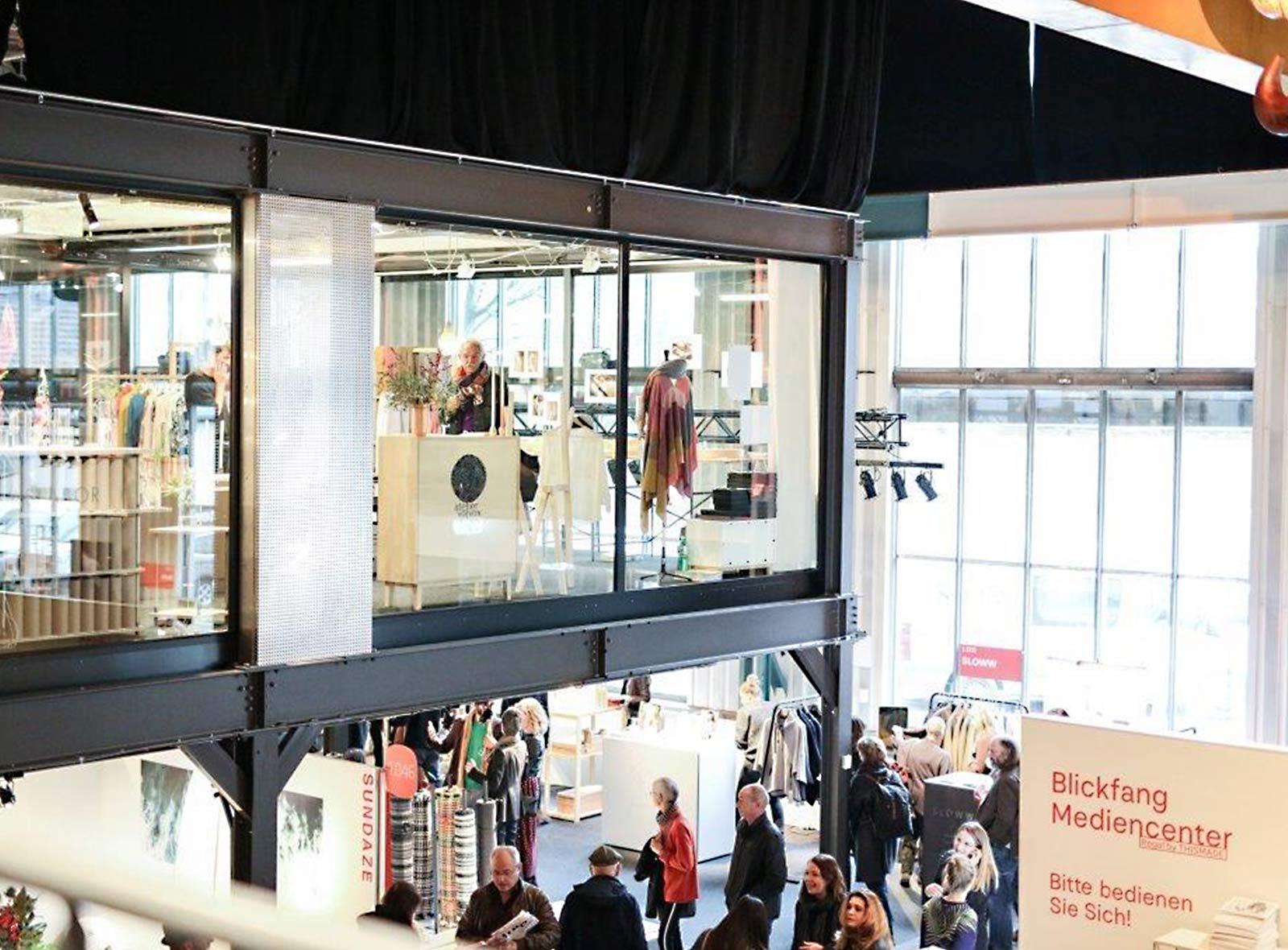 Fabrikhalle Stage One in Zürich-Oerlikon Blickfang 2018