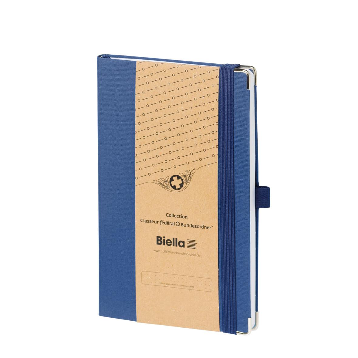 Notizbuch mit Umschlag der Collection Bundesordner von Biella