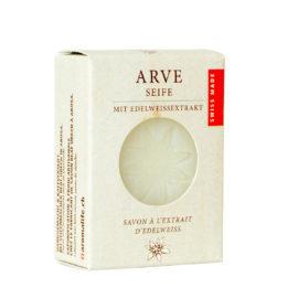 Seife aus Arvenöl und Edelweiss von Aromalife