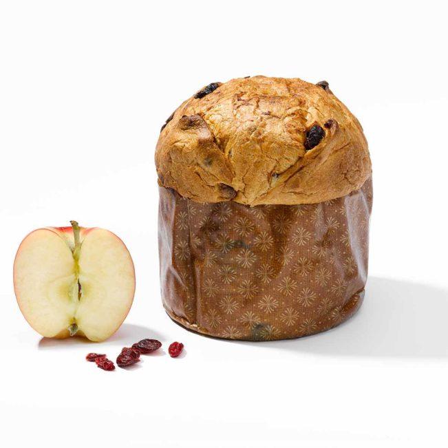 Panettone Cranberries und Apfel der Bäckerei Arnold