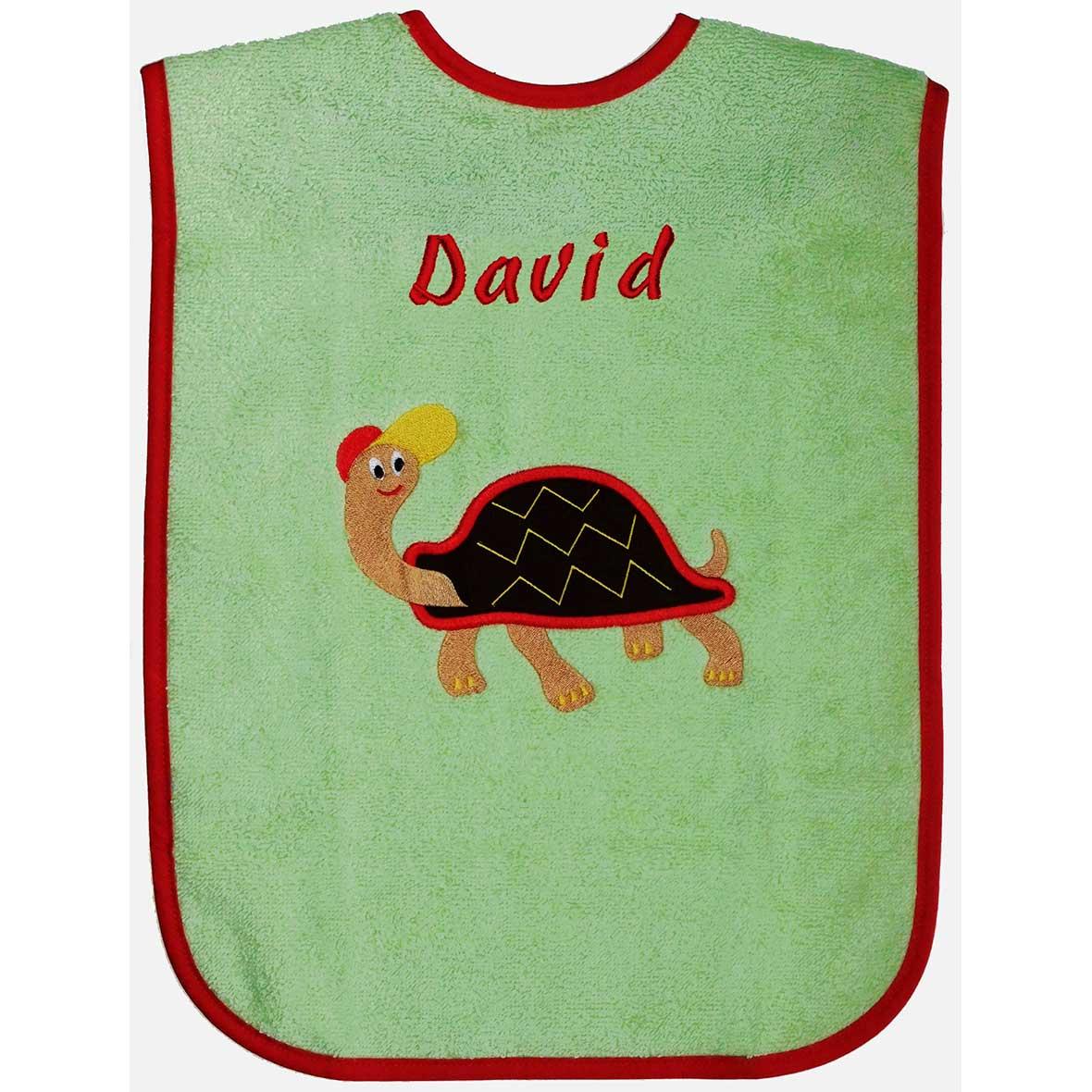 Brändi Babylätzchen Schildkröte David