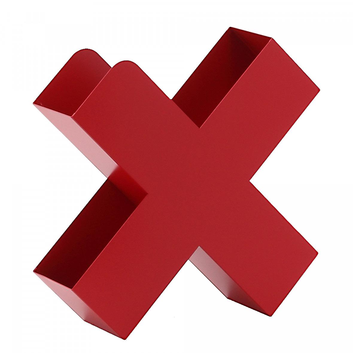 Zeitschriftenhalter Bukan rot von Mox