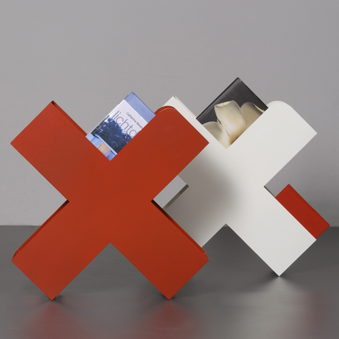 Zeitschriftenhalter Bukan stahlblech von Mox