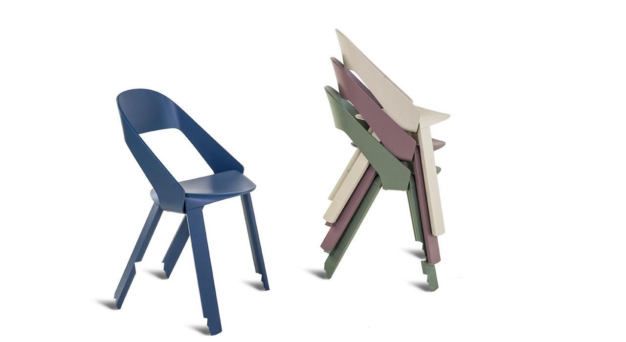 Wogg 50 Roya Stapelstuhl Designschenken