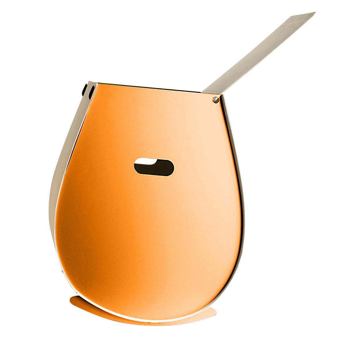 Wäschekorb Ovetto orange von Lehni
