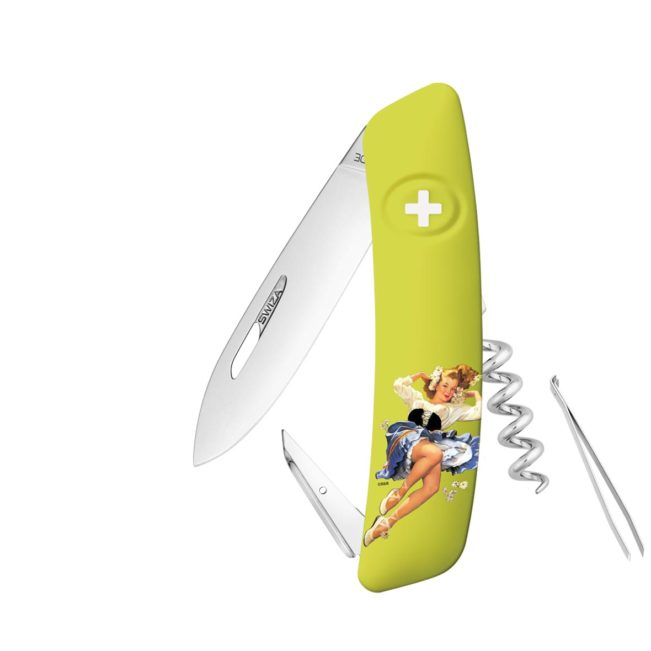 Taschenmesser Swiza D03 Limited Edition Spring