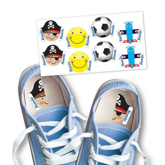 Schuhsticker Cool von Stickerella