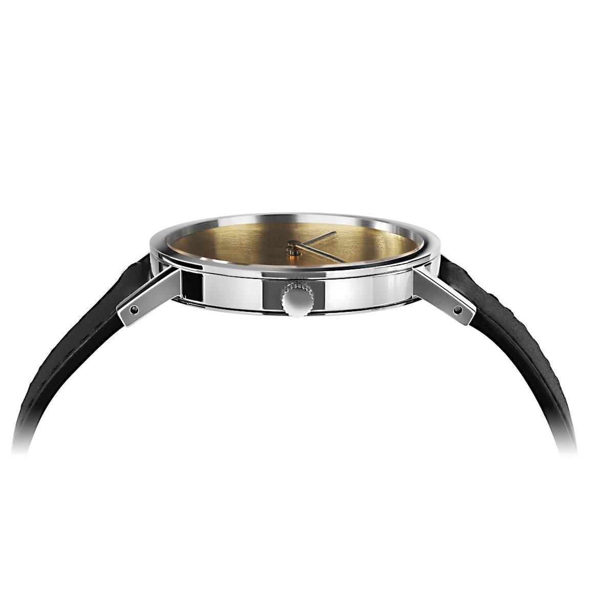Armbanduhr Gold Leaf - Quarzuhrwerk - Durchmesser 34 mm bis 38 mm - by Atelier Pierre Junod