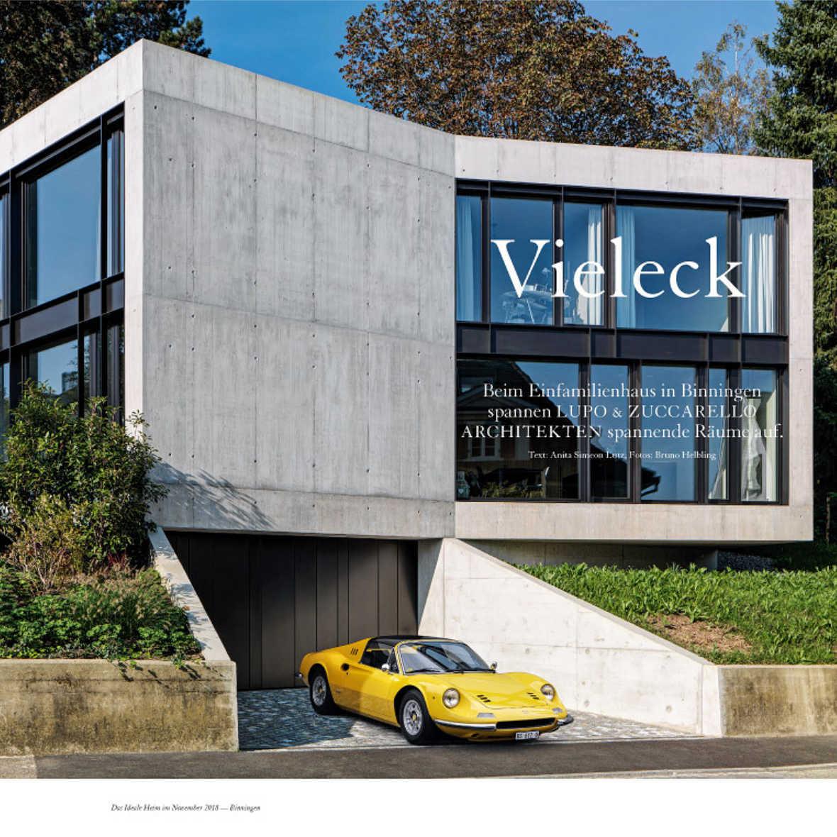 Das Ideale Heim Wohnzeitschrift Beton Villa