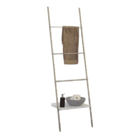 Anlehnregal Step Set 1 - Badezimmer - Edelstahl