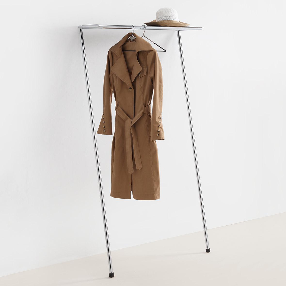 Garderobe Zen verchromtes Stahlrohr von Mox