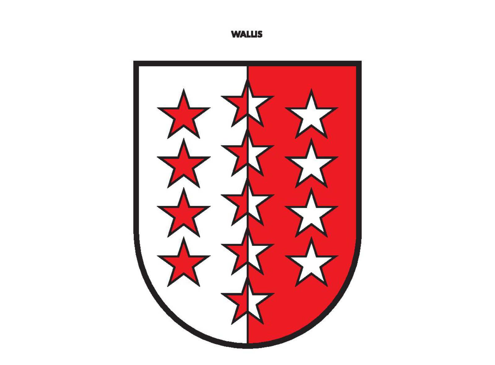 Schweizer Kantone – Wallis