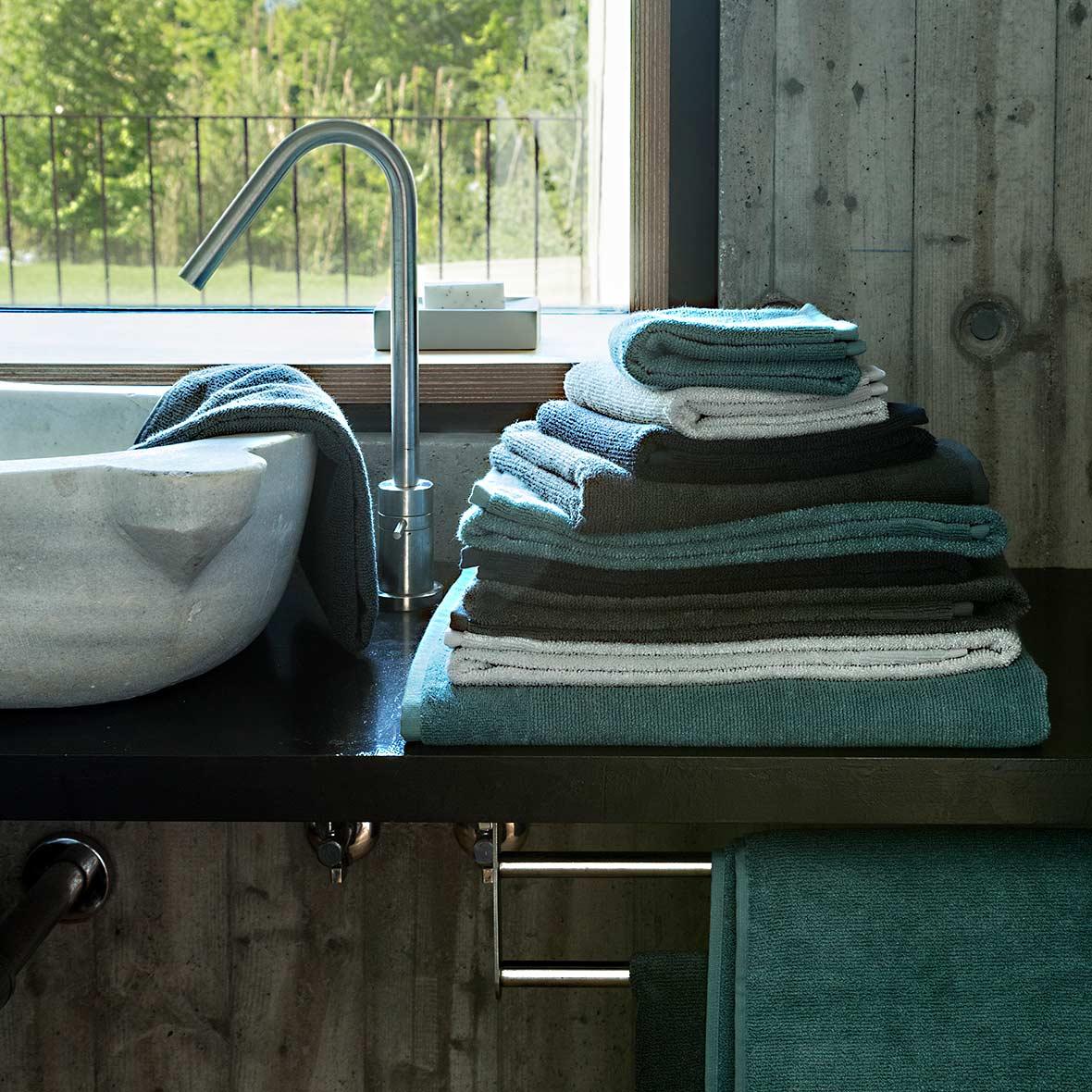 Handtuch Naturaldream - Baumwolle - feine Rippstruktur