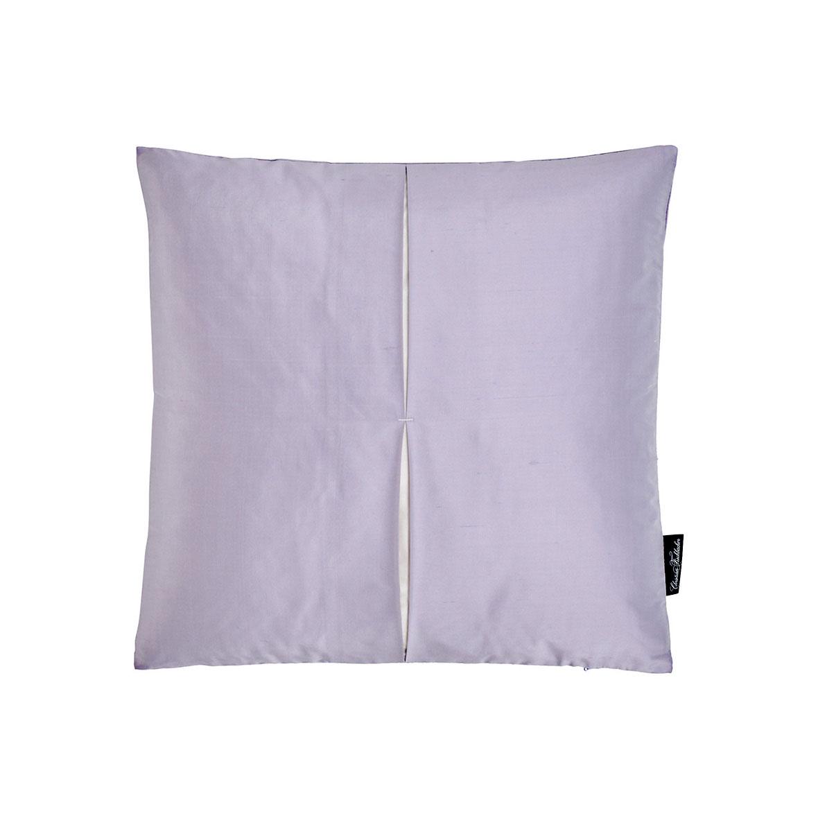 Zierkissen Jamila - Seide - Farbe violett - Christian Fischbacher