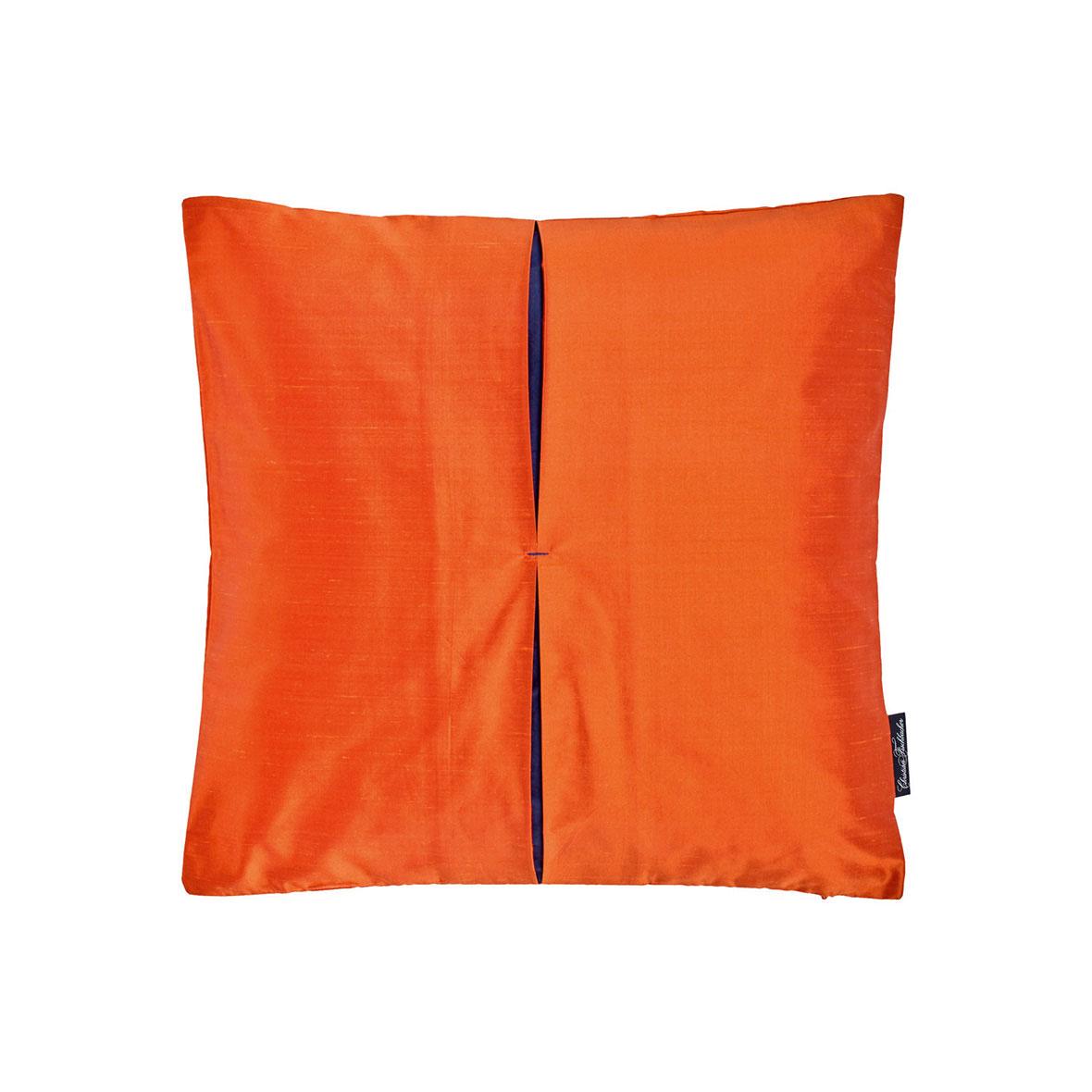 Zierkissen Jamila - Seide - Farbe orange - Christian Fischbacher