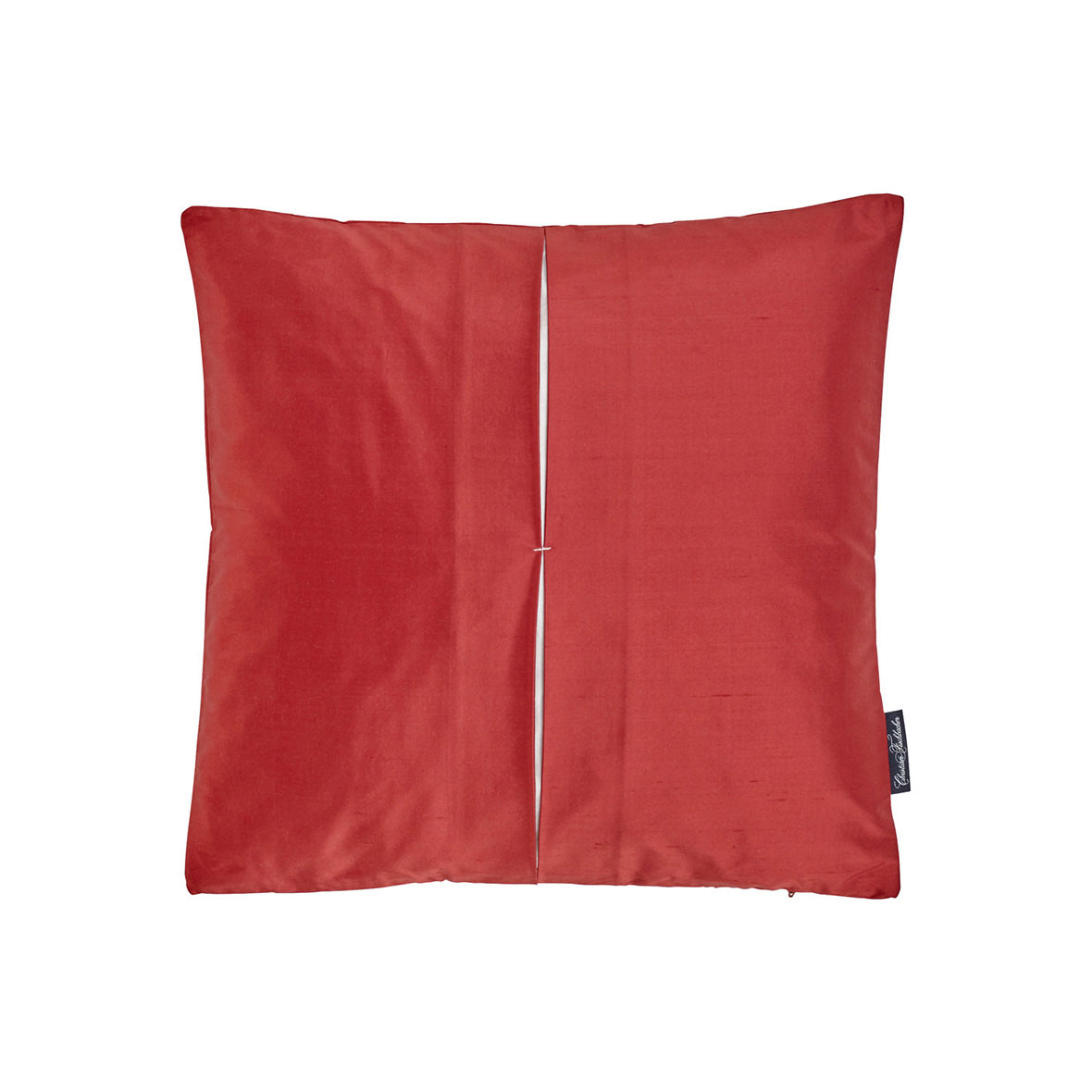 Zierkissen Jamila - Seide - Farbe rot - Christian Fischbacher
